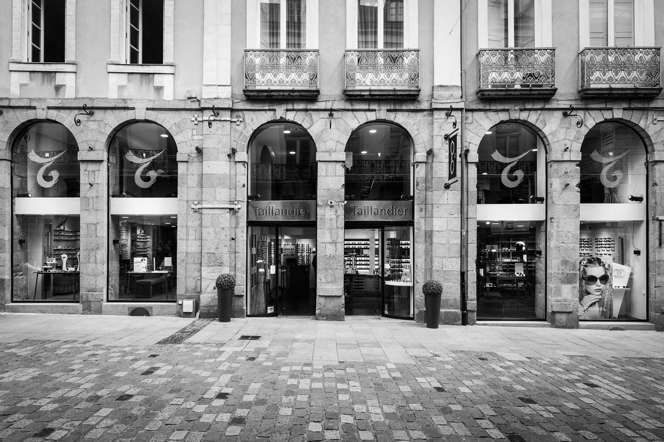 Magasin d'optique Taillandier à Rennes